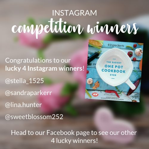 One Pot winners Instagram