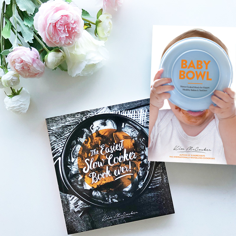Baby Bowl & The Easiest Slow Cooker Book Ever