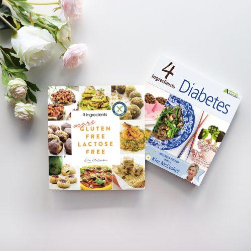 4 Ingredients More Gluten Free Lactose Free & 4 Ingredients Diabetes