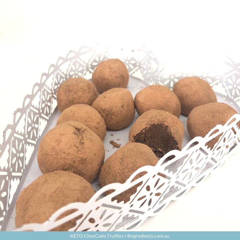 Keto ChocCado Truffles