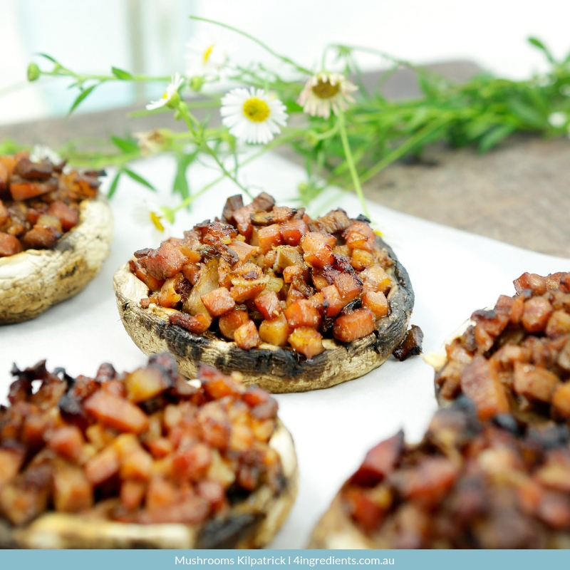 Mushrooms Kilpatrick