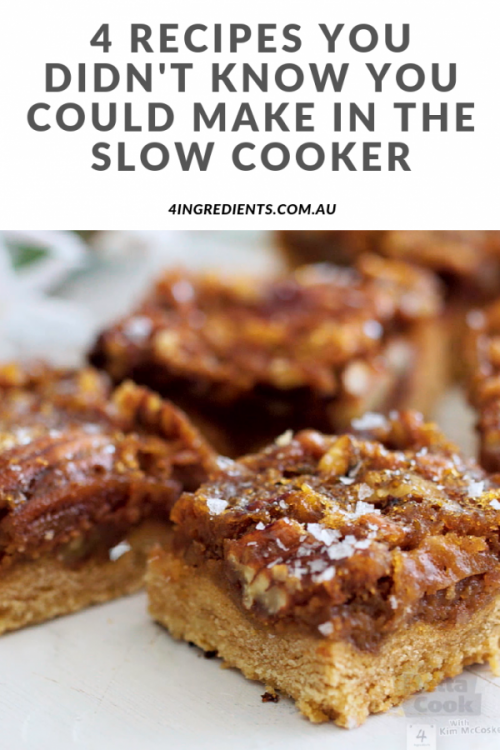 4 recipes you didn't know you could make in the slow cooker