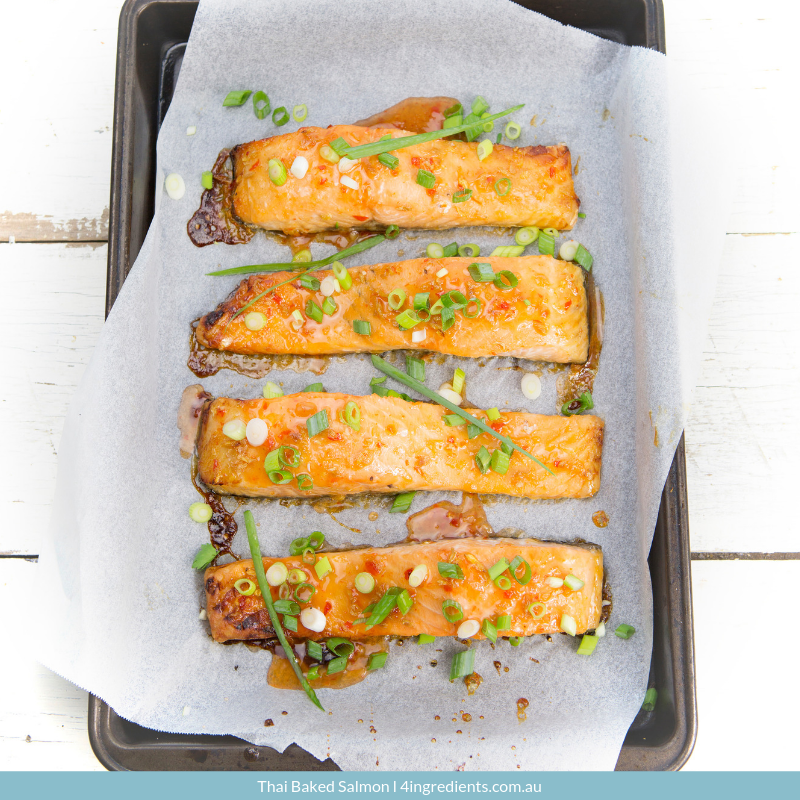 Thai Baked Salmon