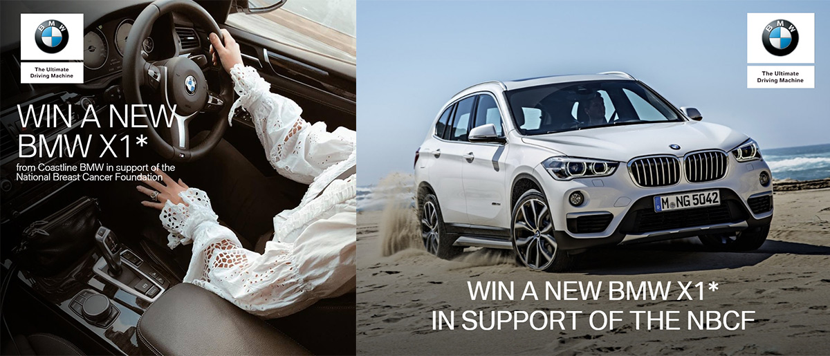 Would you like to win a brand new BMW X1
