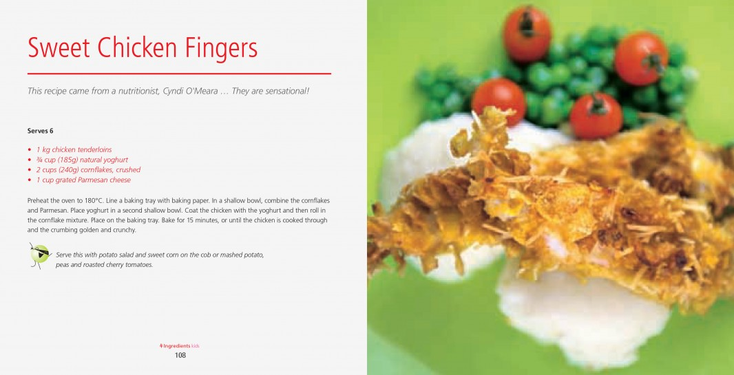 Sweet Chicken Fingers