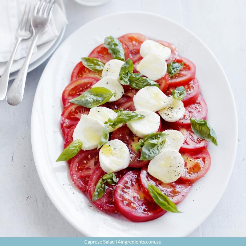 4ING l Recipe Image l Caprese Salad