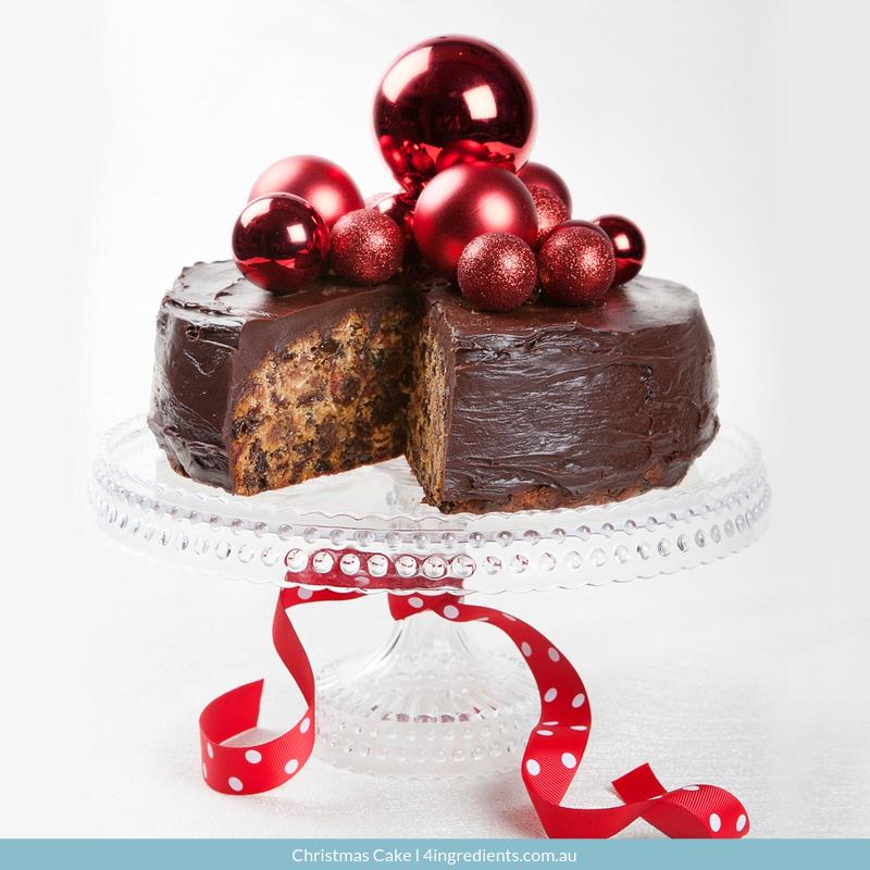 4ING l Recipe Image l Christmas Cake