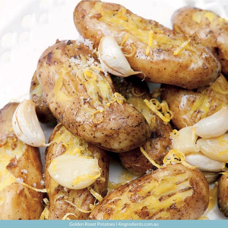 4ING l Recipe Image l Golden Roast Potatoes