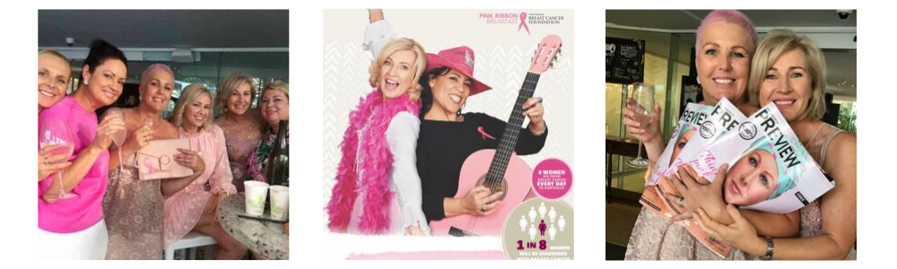 Breast cancer fundraising