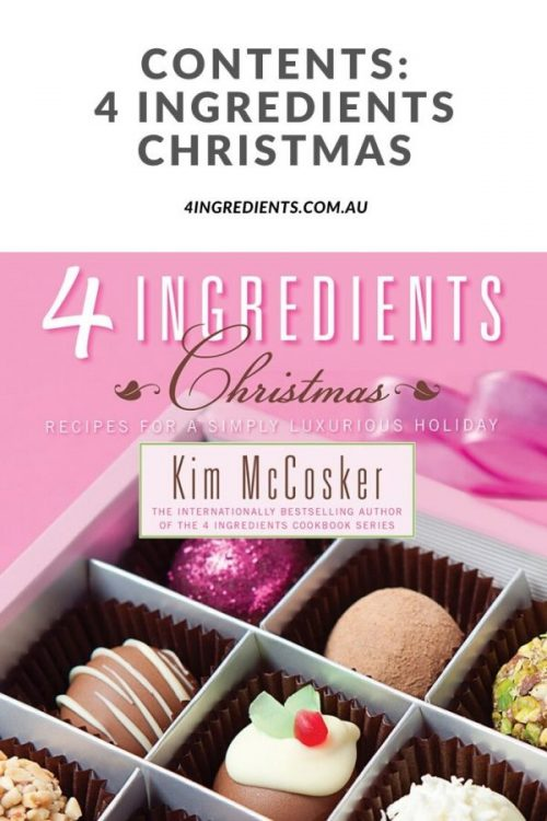 4 Ingredients Christmas Contents
