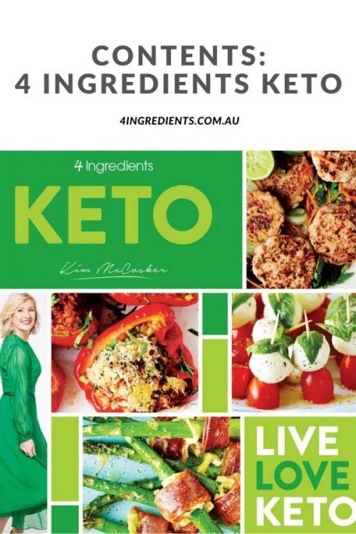 4 Ingredients Keto Contents