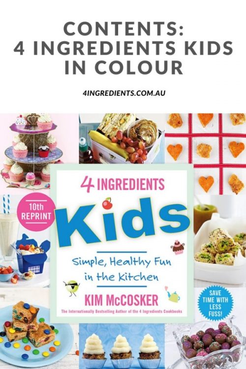 4 Ingredients Kids In Colour Contents
