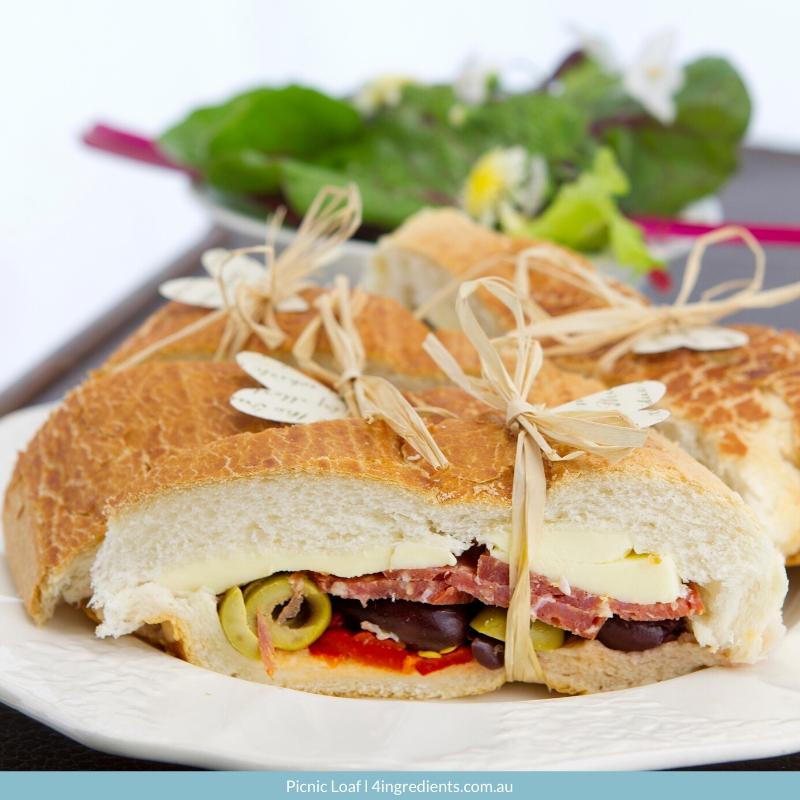 4ING l Recipe Image l Picnic Loaf