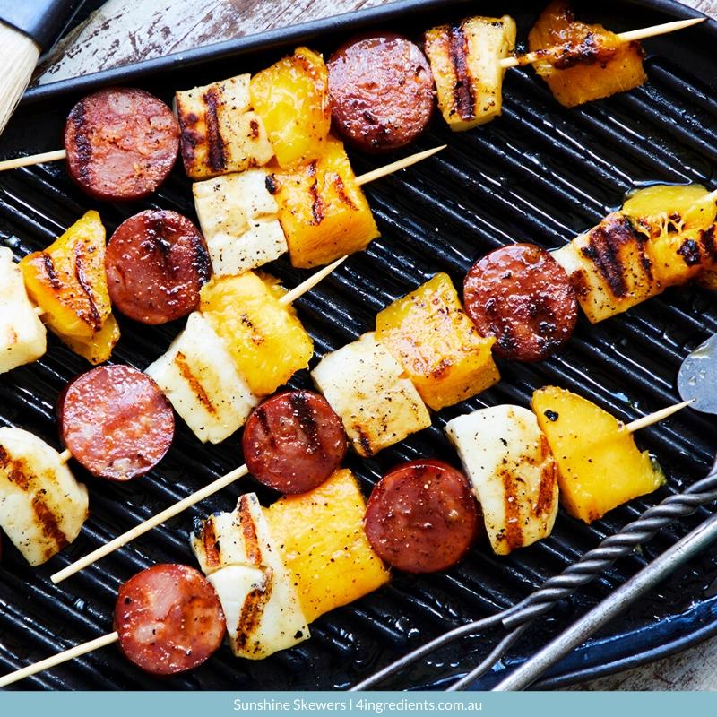4ING l Recipe Image l Sunshine Skewers