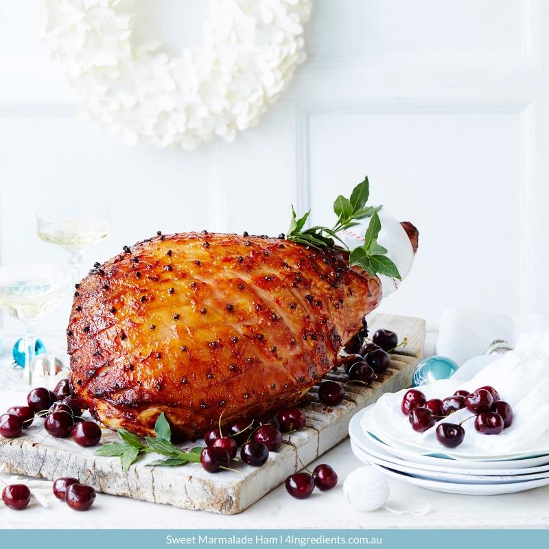 4ING l Recipe Image l Sweet Marmalade Ham