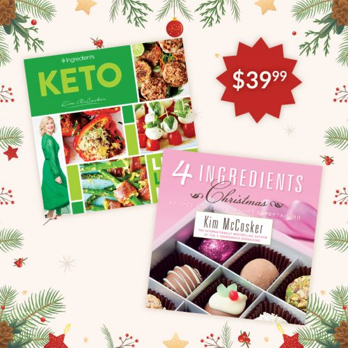4 Ingredients Keto & 4 Ingredients Christmas