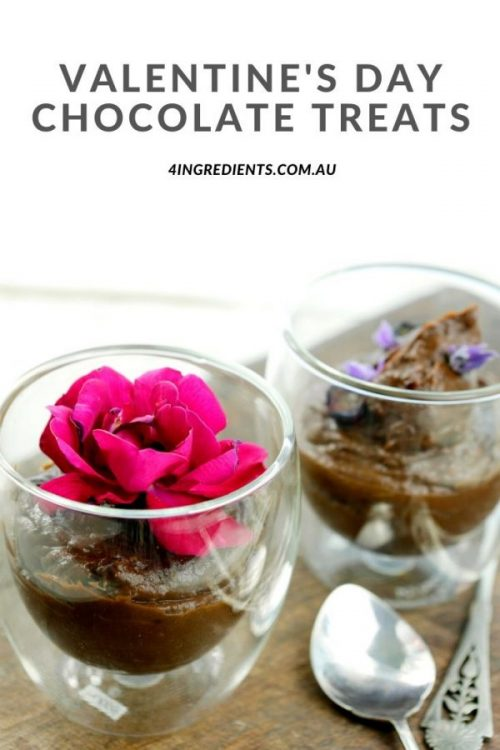 Blog (Pinterest) Layout Valentine's Day Chocolate Treats
