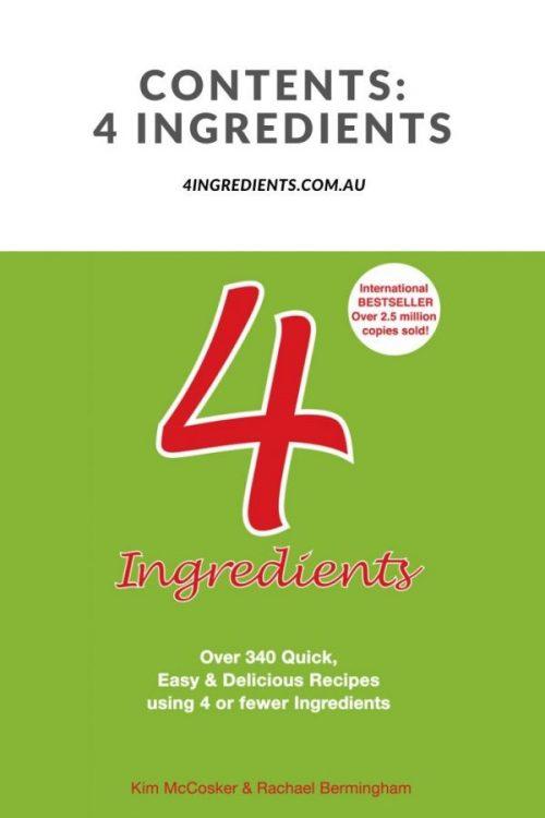 4 Ingredients Contents