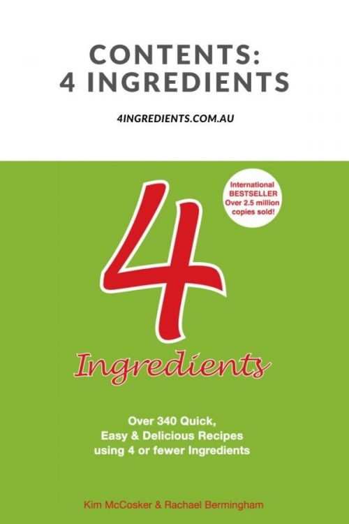 4 Ingredients Contents