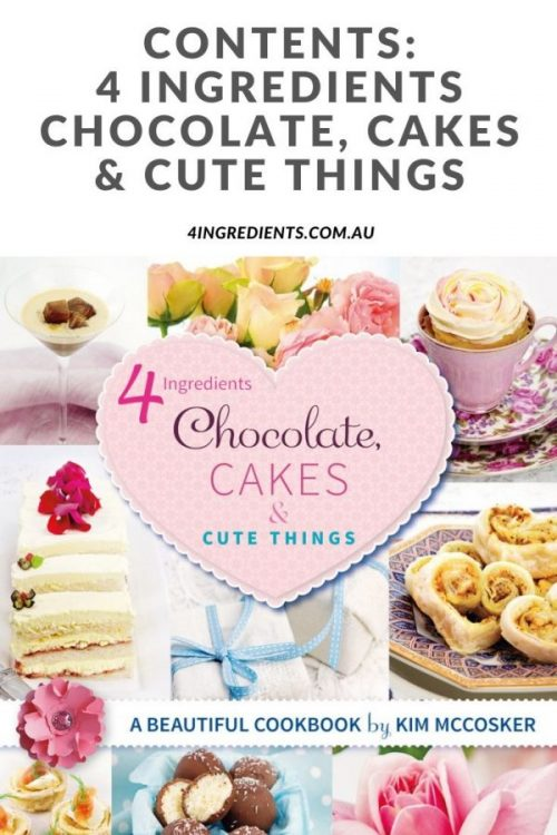 Contents I Chocolate, Cakes & Cute Things