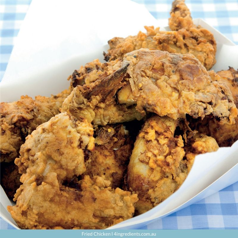 4ING l Recipe Image l Fried Chicken