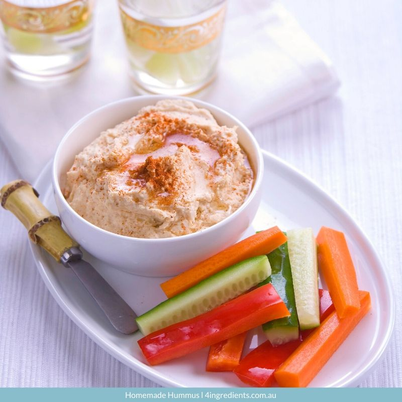 4ING l Recipe Image l Homemade Hummus