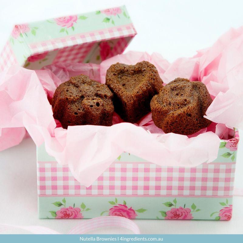 4ING l Recipe Image l Nutella Brownies