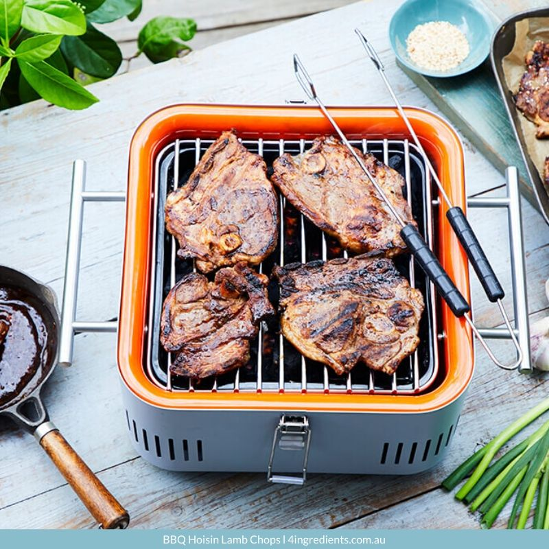 4ING l Recipe Image l BBQ Hoisin Lamb Chops