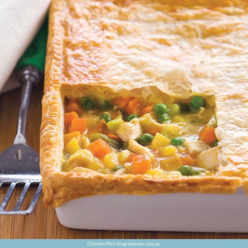 4ING l Recipe Image l Chicken Pie