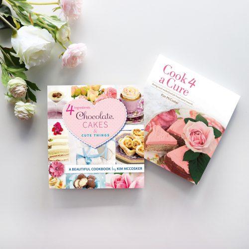 4 Ingredients Chocolate, Cakes & Cute Things & 4 Ingredients Cook 4 A Cure