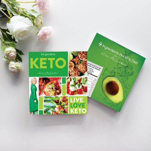 4 Ingredients Keto & 4 Ingredients Healthy Diet
