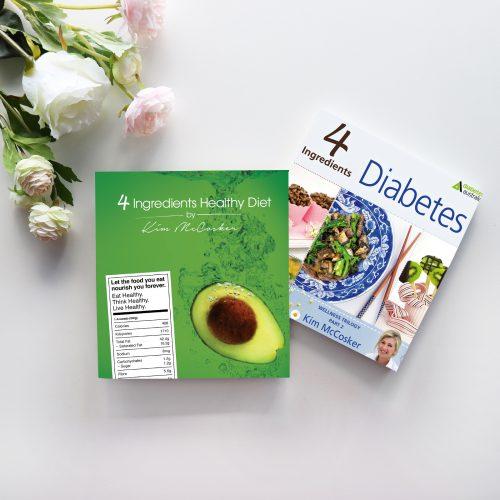 4 Ingredients Healthy Diet & 4 Ingredients Diabetes