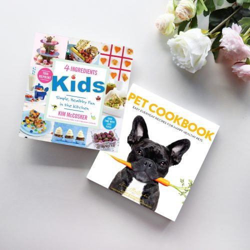 4 Ingredients Kids & Pet Cookbook