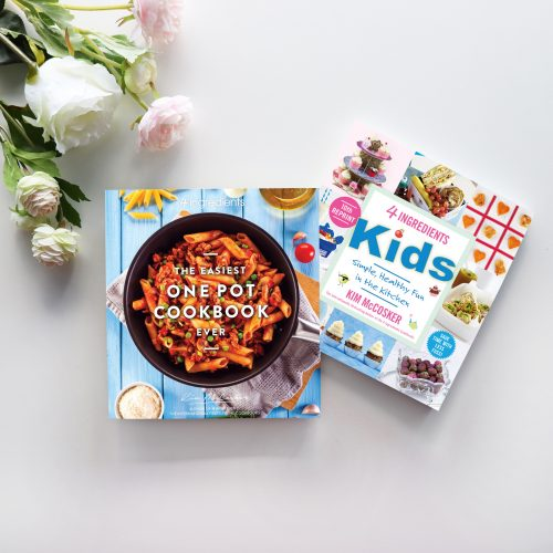 The Easiest One Pot Cookbook Ever & 4 Ingredients Kids In Colour