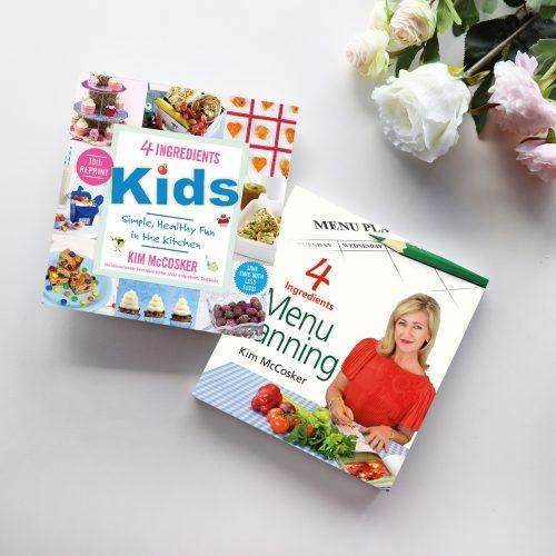 4 Ingredients Menu Planning & 4 Ingredients Kids In Colour