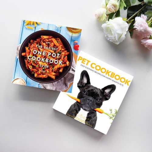 The Easiest One Pot Cookbook Ever & Pet Cookbook