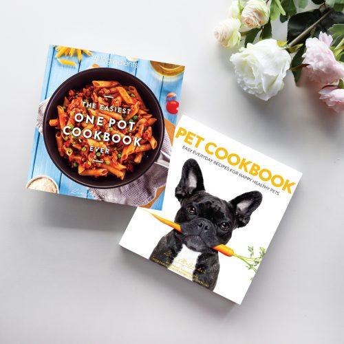 The Easiest One Pot Cookbook Ever & Pet Cookbook