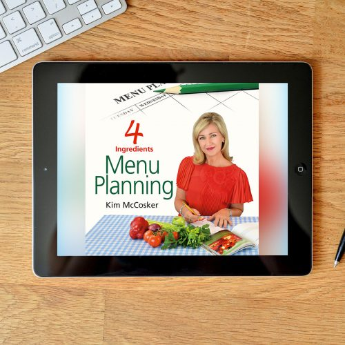4 Ingredients Menu Planning (Digital eBook)