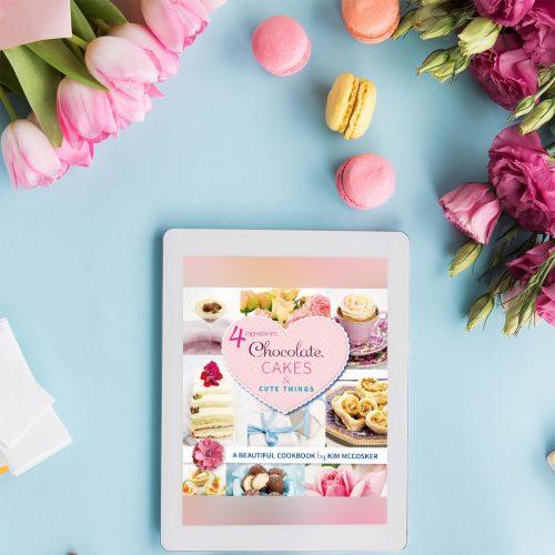 4 Ingredients Chocolate, Cakes & Cute Things (Digital eBook)