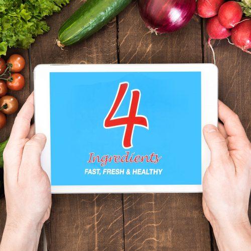 4 Ingredients Fast, Fresh & Healthy (Digital eBook)