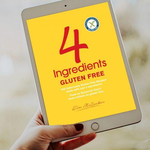 4 Ingredients Gluten Free (Digital eBook)