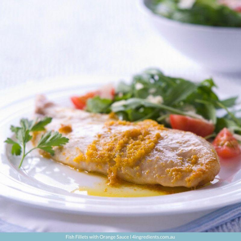 4ING l Recipe Image l Fish Fillets with Orange Sauce
