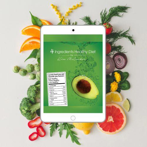 4 Ingredients Healthy Diet (Digital eBook)