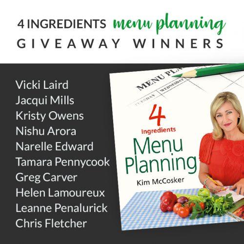 Menu-Planning-giveaway-WINNERS