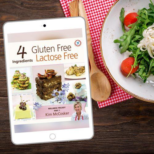 4 Ingredients Gluten Free Lactose Free (Digital eBook)