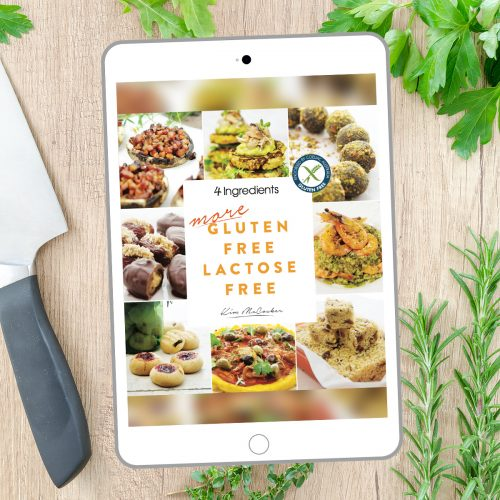 4 Ingredients More Gluten Free Lactose Free (Digital eBook)