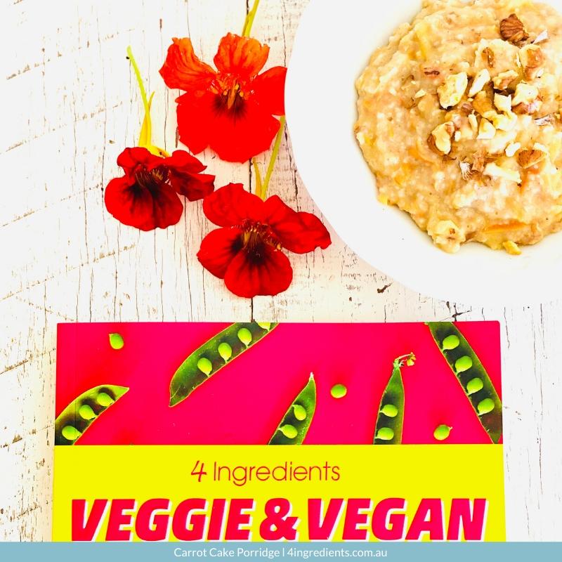 4ING l Recipe Image l Carrot Cake Porridge