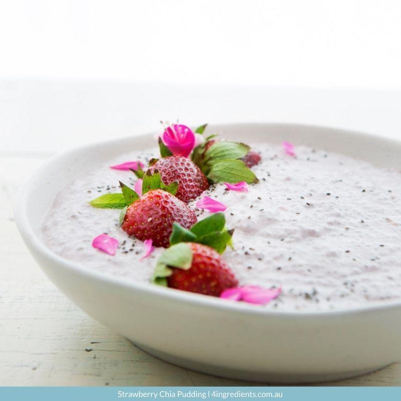Strawberry Chia Pudding