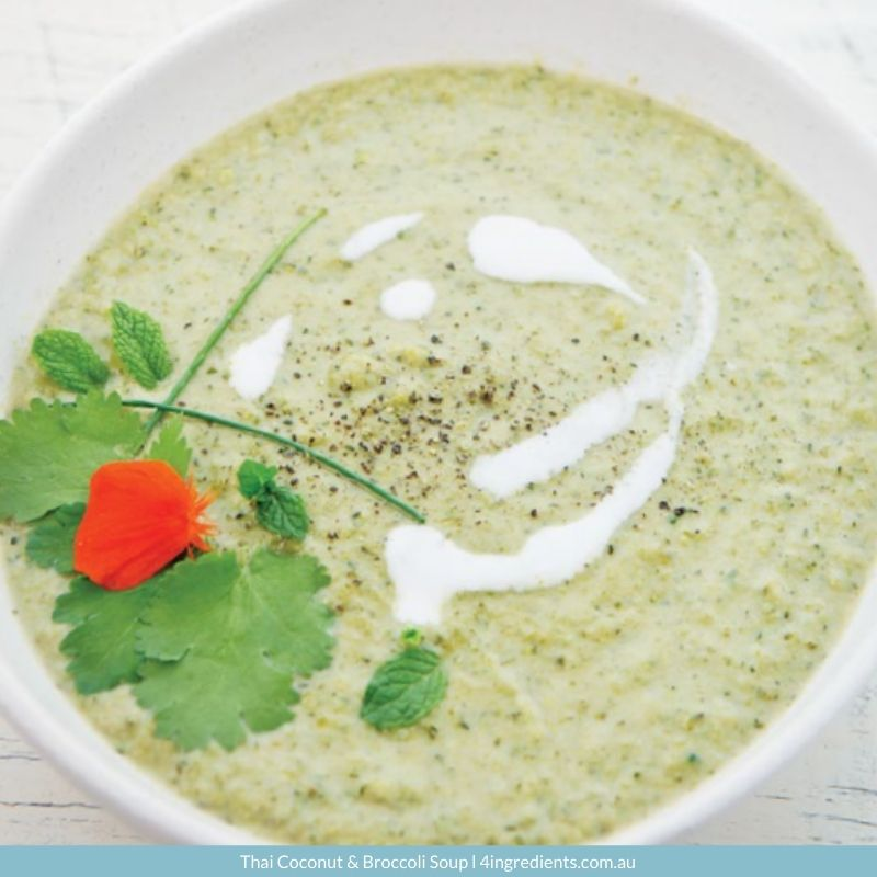Thai Coconut & Broccoli Soup