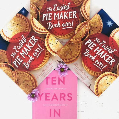 The Easiest Pie Maker Book Ever (3 copies) + a FREE copy of Ten Years In